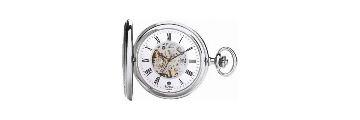 Royal London - Orologio da tasca - Movimento meccanico - 90047-01