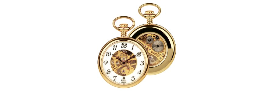 Royal London - Pocket Watch - Mechanical Movement - 90002-02