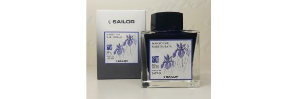 Sailor - Manyo II - Ink Bottle - Kakitsubata