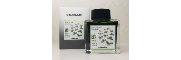 Sailor - Manyo II - Ink Bottle - Ukikusa