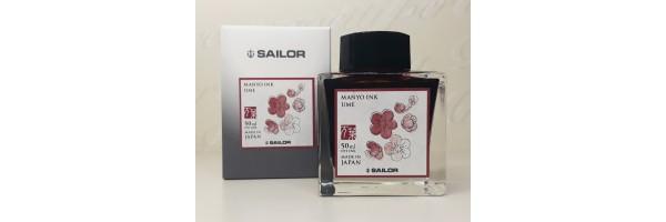 Sailor - Manyo II - Ink Bottle - Ume