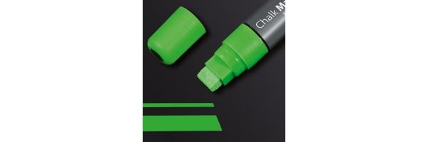 GL174 - Sigel - Marcatore a gesso 150, punta obliqua 5-15 mm - Verde