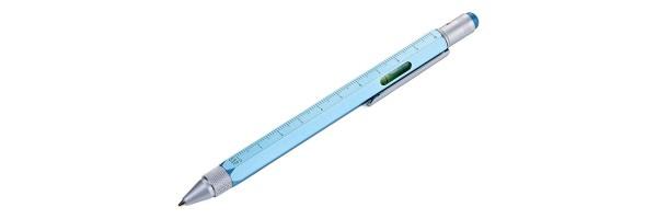 Troika - Construction Pen - Azzurro metallizzato