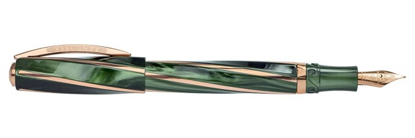 Visconti - Divina Elegance - Green Pearlescent - Oversize Fountain Pen