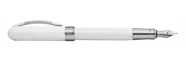Visconti - Rembrandt - White marble - Fountain Pen