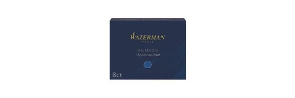 Waterman - Fountain Pen Cartridges - Mysterious Blue