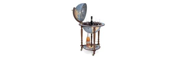 Zoffoli - Bar Globe - Da Vinci - Blu Dust