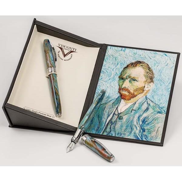Van Gogh Portrait Blu