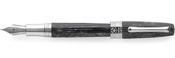 Montegrappa - Extra otto - Stilografica - Linee Brillanti