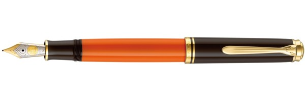 Pelikan - Souverän 800  - Burnt Orange - Penna Stilografica
