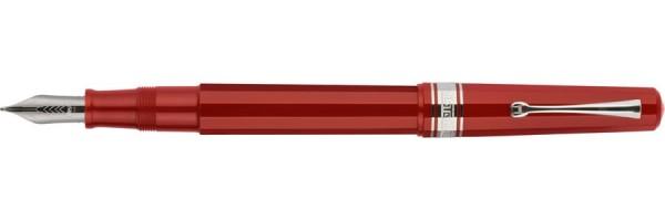 Omas - Arte Italiana Art Déco - Stilografica rossa
