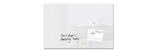 GL141 - Sigel - Lavagna Magnetica - Super Bianco - 100 x 65 cm