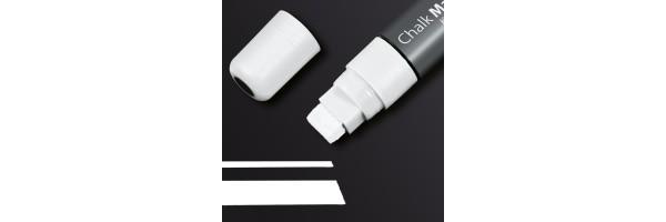 GL171 - Sigel - Marcatore a gesso 150, punta obliqua 5-15 mm - Bianco