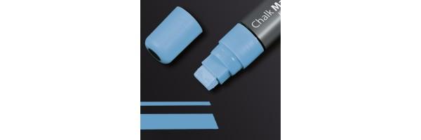 GL175 - Sigel - Marcatore a gesso 150, punta obliqua 5-15 mm - Azzurro