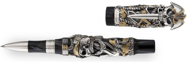 Montegrappa - Pirates - Roller Argento