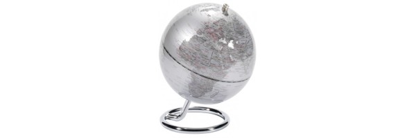 Emform - Mini Globe - Galilei - Silver