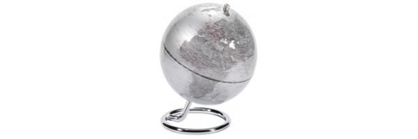 Emform - Mini Globo - Galilei - Silver