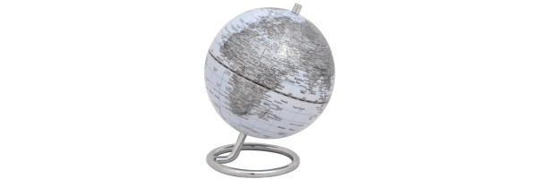 Emform - Mini Globe - Galilei - White