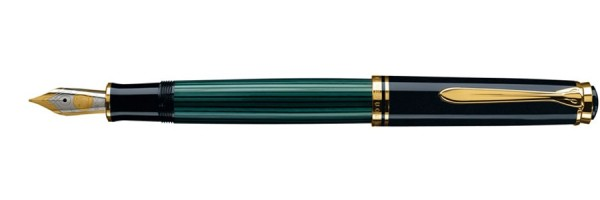Pelikan - Souverän 800 - Green Black - Fountain Pen
