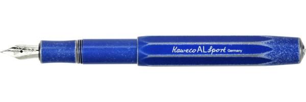 Kaweco - Al Sport Stonewashed  - Blu - Penna Stilografica