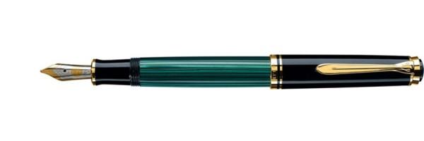 Pelikan - Souverän 600 - Green Black - Fountain Pen