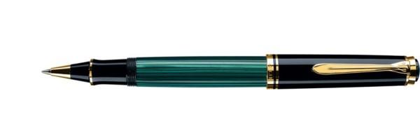 Pelikan - Souverän 600 - Green Black - Rollerball