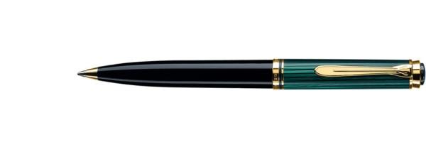 Pelikan - Souverän 600 - Green Black - Ballpoint