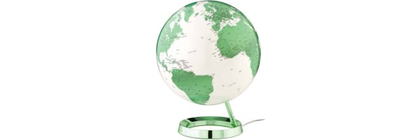 Atmosphere - Illuminated Globe - Green