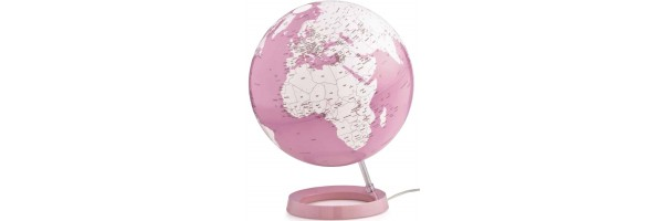 Atmosphere - Globo con luce - Coral