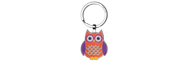 "Troika - Keyring Owl ""Curly"""