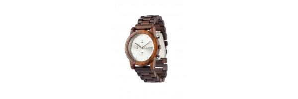 Laimer - Cronografo - Orologio da polso in legno - Damian - 0061