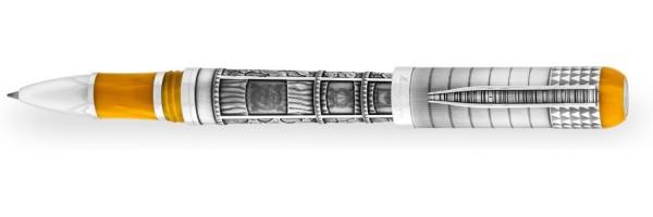 Montegrappa - Memory Pen - Roller Argento