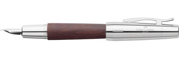 Faber Castell - E-Motion - Stilografica - Wood moka