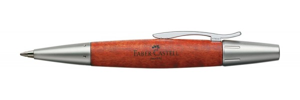 Faber Castell - E-Motion - Penna a sfera - Metal Wood